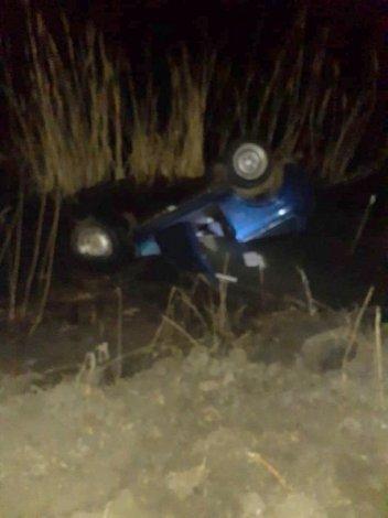Под Астраханью утонуло авто с инвалидом