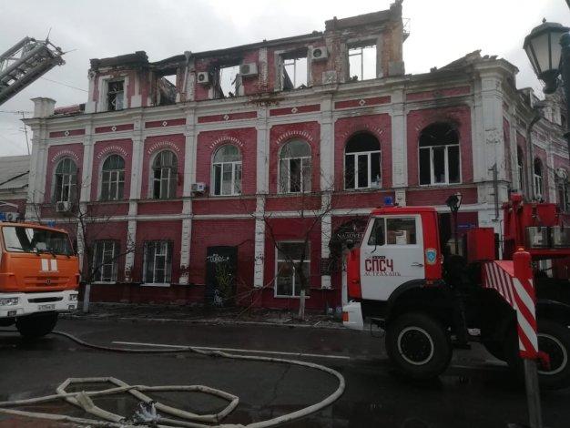 Расследование пожара в Астрахани и ликвидация последствий на личном контроле губернатора