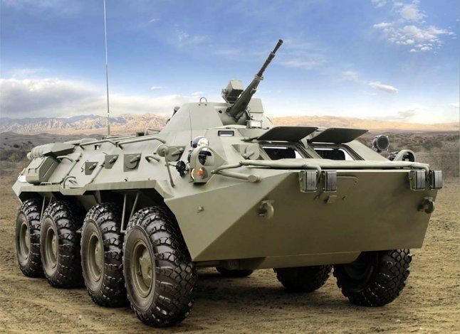 Астраханские тюремщики заказали ремонт старого БТР-80 по цене трёх новых
