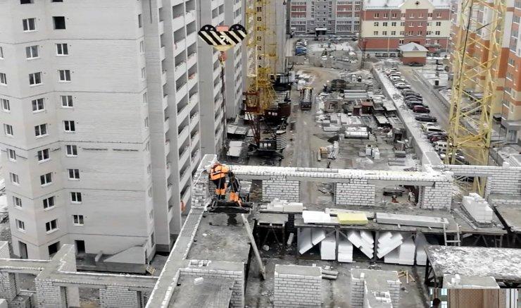 Стало известно место Астрахани в рейтинге объёма строительства в ЮФО