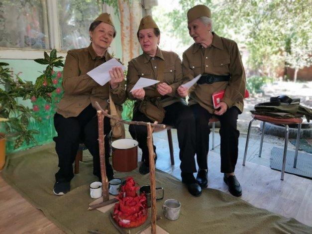 Пенсионеры Астрахани записали спектакль для конкурса