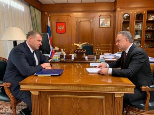 Губернатор Игорь Бабушкин обсудил с Виталием Мутко важные для региона вопросы