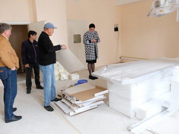 По поручению Игоря Мартынова проинспектирован ремонт инфекционной больницы