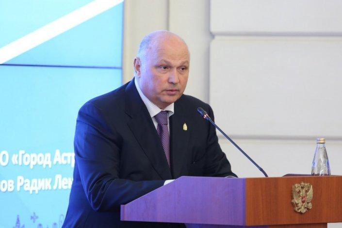 Слух о новой работе главы администрации Астрахани