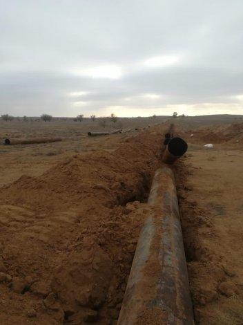 Фермеры обеспокоены выкапыванием оросительной системы в Енотаевском районе