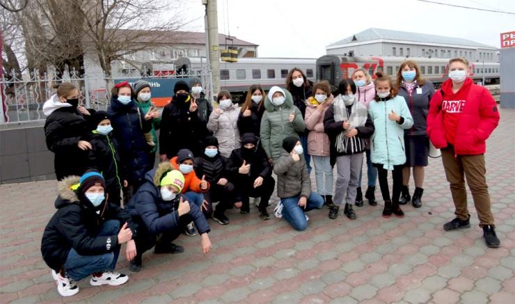 Новый краеведческий маршрут по железной дороге организован в Астрахани