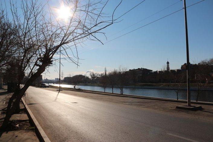 В Астрахань вернулись весна и солнце