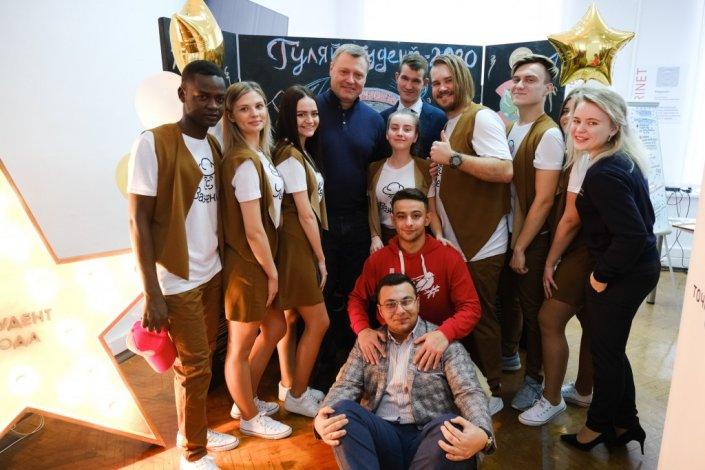 Игорь Бабушкин: Нам нужны образованные, яркие, энергичные молодые люди