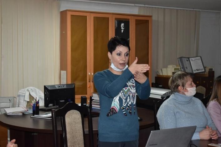 Астраханские музейщики учат язык жестов