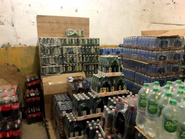 Под Астраханью обнаружен склад с нелегальным алкоголем