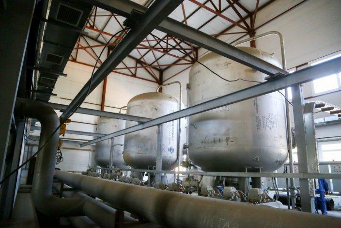 В Знаменске строят станцию очистки воды
