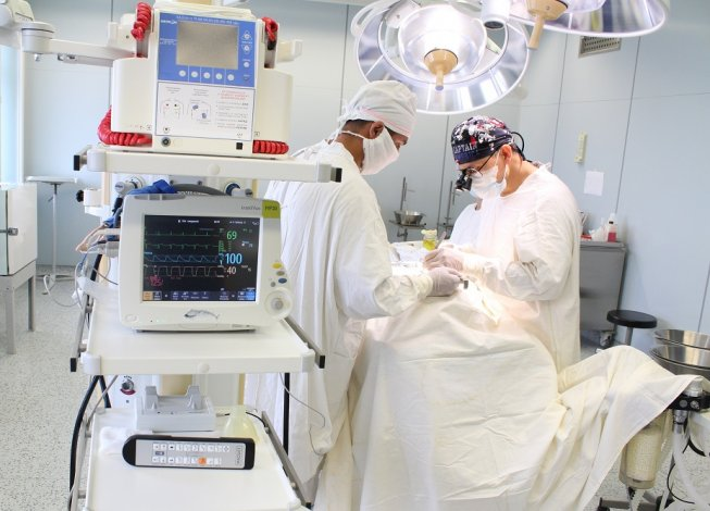 В больнице Астрахани хирурги провели сложнейшую операцию