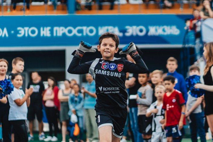 На стадионе в Астрахани пройдёт полуфинал по детскому футболу