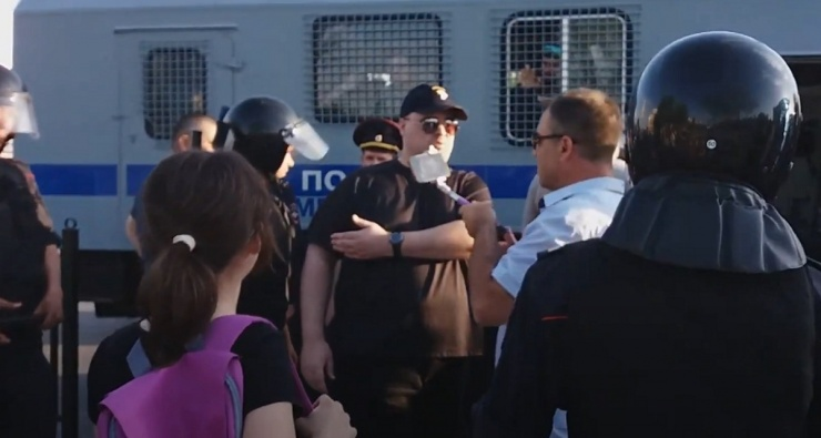 В Астрахани задержан председатель отделения партии «Парнас»
