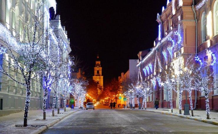 Стала известна программа новогодних мероприятий в Астрахани