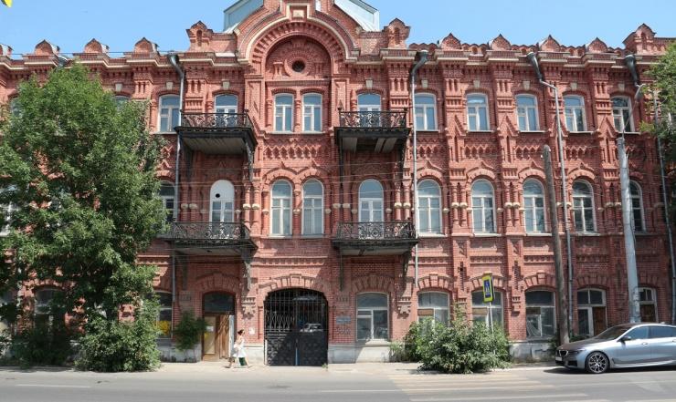 Легендарные здания в Астрахани в упадке: дом Воробьёва