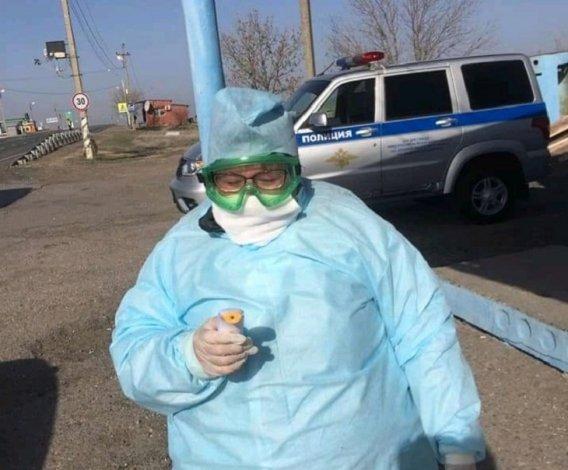 Медицинские посты появились на границе Астраханской области