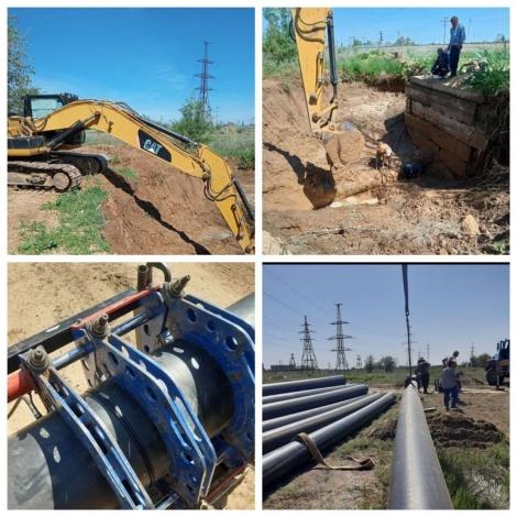 Игорь Бабушкин – о ситуации с водой в Ахтубинском районе