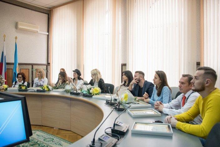 Астраханские журналисты отмечены на самом высоком уровне