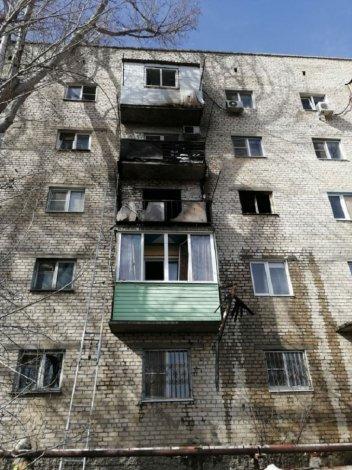 В Астрахани при пожаре пострадал мальчик