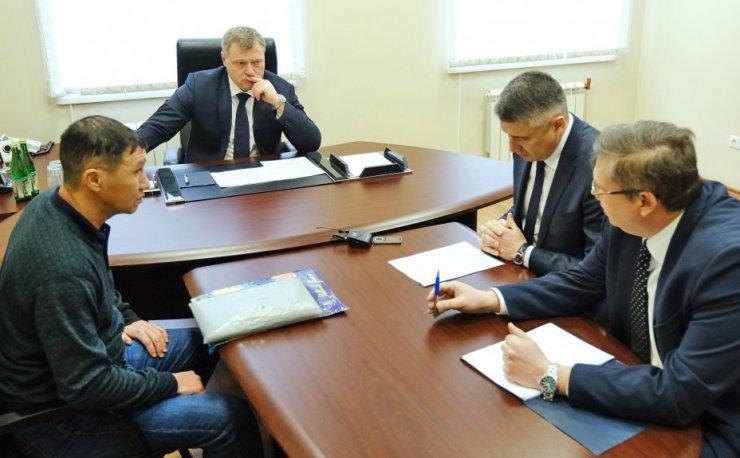 Газификация в поселке Мирный будет на контроле губернатора и общественности