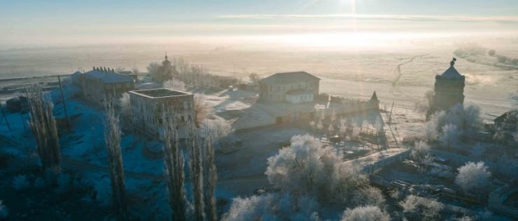 Снят документальный фильм о возрождающемся в Астраханской области Чуркинском монастыре