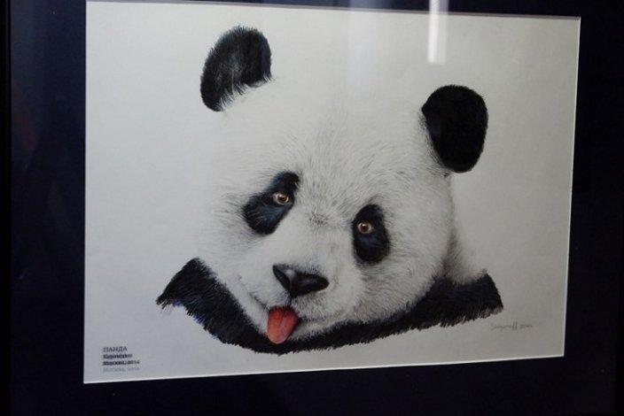 В астраханском «Цейхгаузе» разместился нарисованный зоопарк