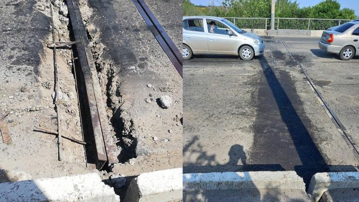 Игорь Седов помог решить проблему с дорожным покрытием на Царевском мосту