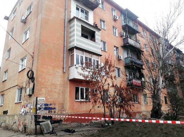 В связи с обрушением балкона в Астрахани возбуждено уголовное дело