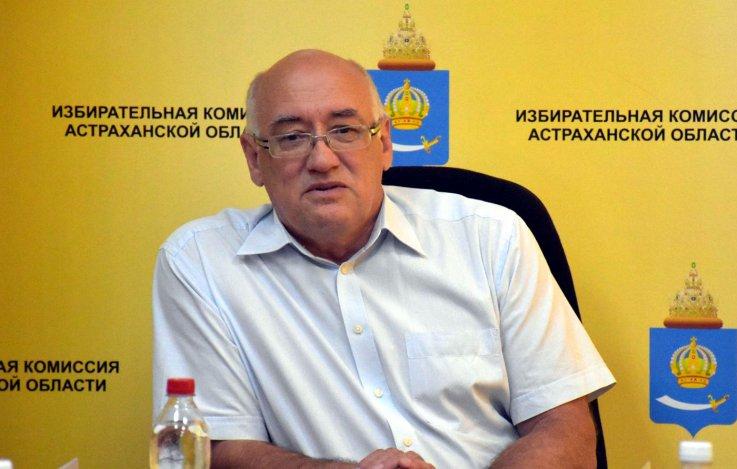 Уволился председатель астраханского облизбиркома Коровин