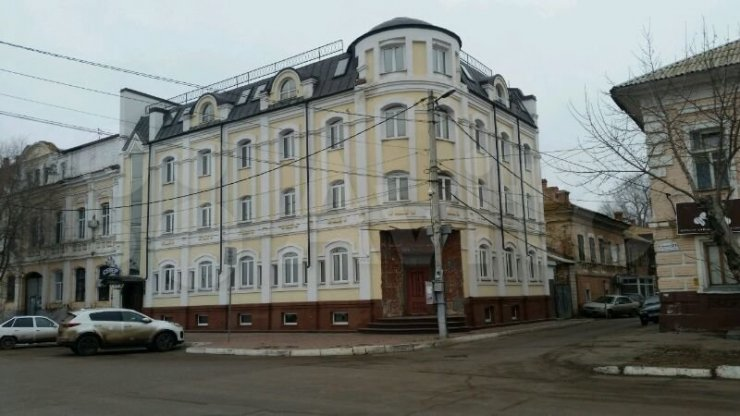 В центре Астрахани продаётся гостиница за 90 млн рублей