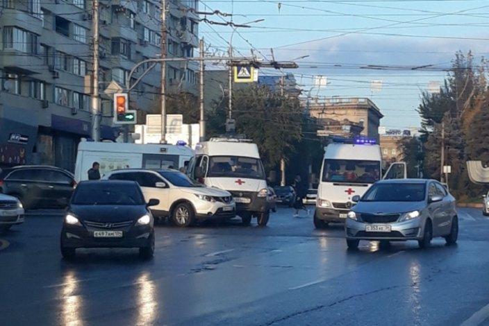 «Скорая» из Астрахани попала в ДТП в соседнем регионе