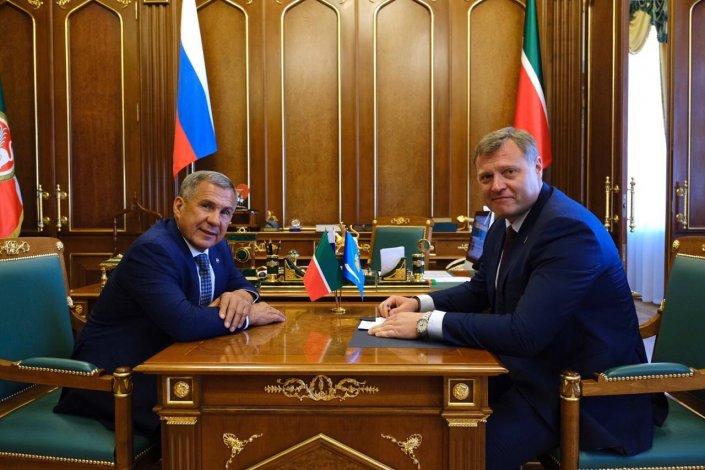 Астрахань и Татарстан реализуют совместные проекты