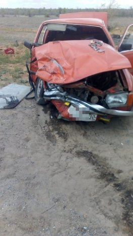 ДТП с пострадавшим произошло на севере Астраханской области