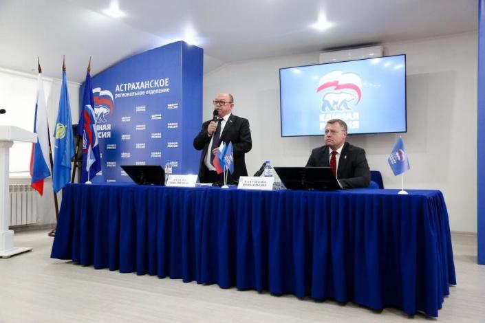 Астраханские единороссы выдвинули губернатора Игоря Бабушкина лидером списка кандидатов на выборах депутатов