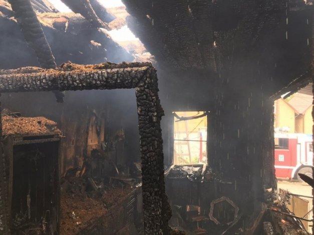 На астраханском рынке «Солянка» произошёл пожар