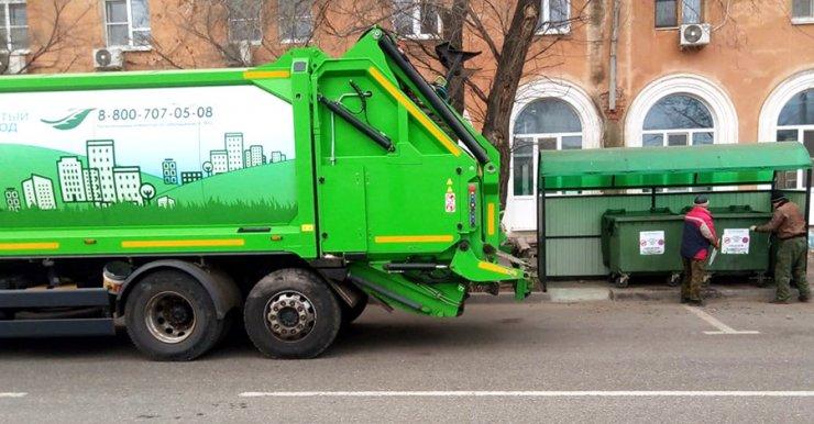 За праздничные дни в Астраханской области собрано 80 тысяч кубов мусора
