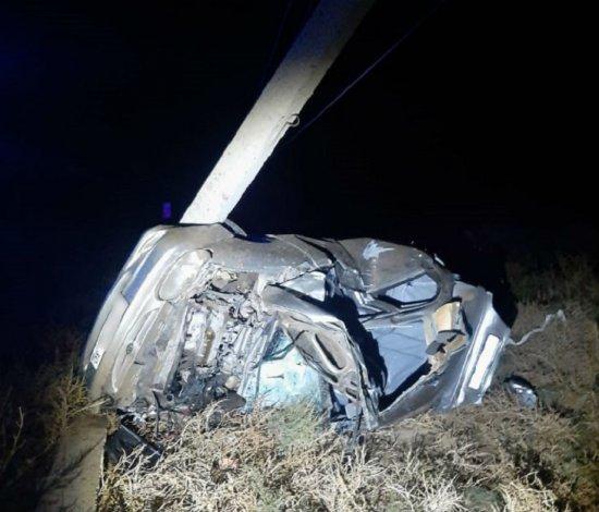 Молодой астраханец серьёзно пострадал в автокатастрофе