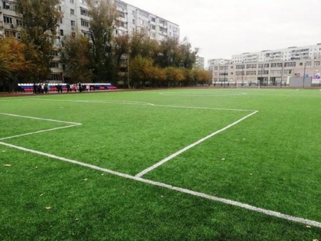 В Астрахани достроили стадион после вмешательства администрации губернатора