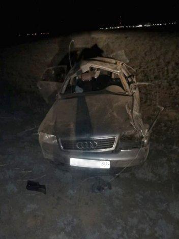 Под Астраханью в автокатастрофе погибли четверо мужчин