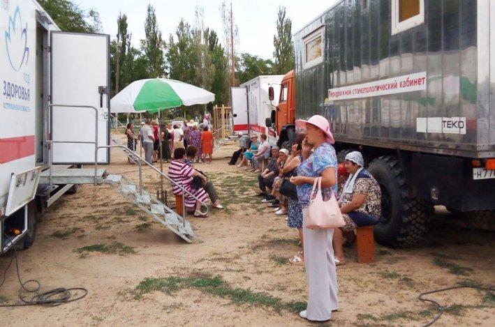 «Поезд здоровья» едет в Черноярский район