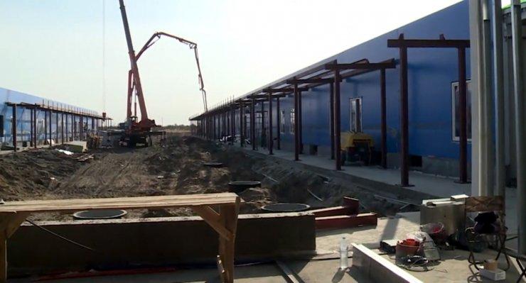 Министерство обороны завершает строительство ковидных госпиталей в Астрахани