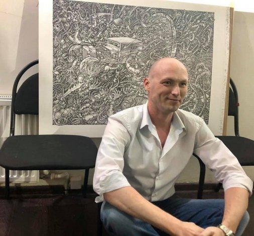 Астраханский художник Марат Джамалетдинов и его проект «Главные слова»