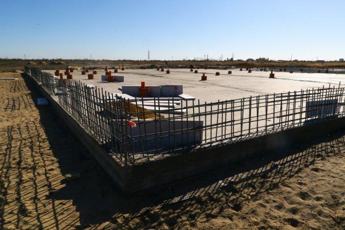 Строительство ковидного госпиталя в Астрахани идёт по плану