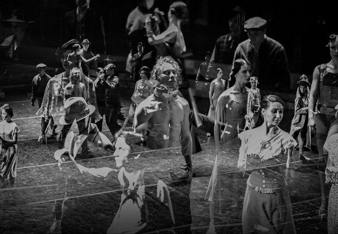 Константин Гузенко: БалетМАСТЕР Константин Уральский и его балет «Вальс белых орхидей»