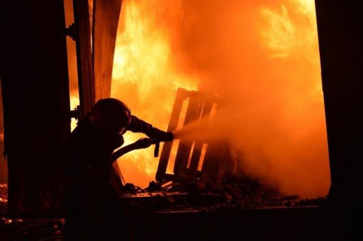 В Капустином Яру сгорел человек