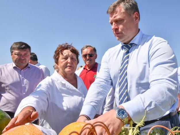 Игорь Бабушкин и Игорь Мартынов встретились с жителями Камызякского района