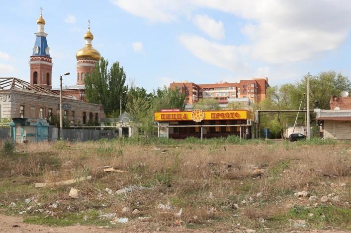 Астраханцы подозревают, что сквера на «Селенских исадах» не будет