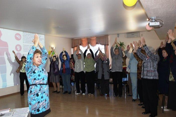Для пенсионеров Астрахани состоялся семинар по борьбе с депрессией