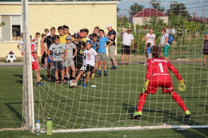 Приволжский район встретил спортивную акцию «Забей НЕ нашим. 2.0»